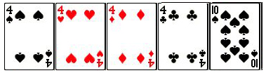 poker four of a kind