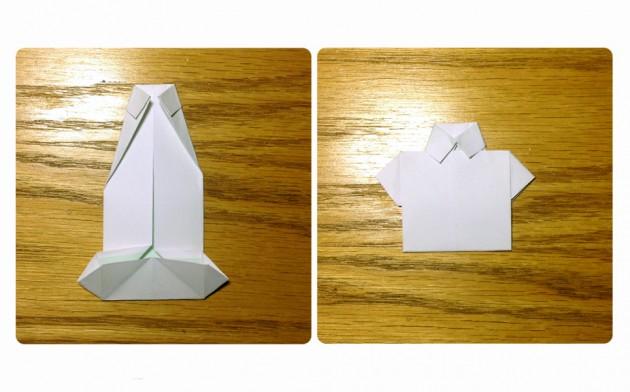 origami camisa 4