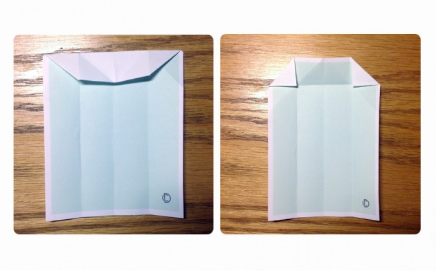origami camisa