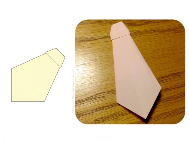 origami gravata 7