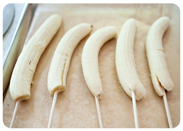 bananas espetada