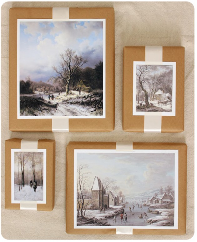 DIY-Winter-Scene-Painting-Gift-Toppers-1
