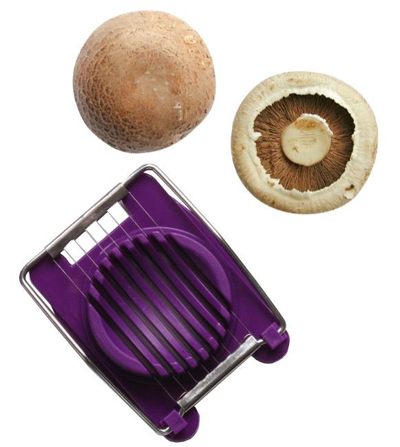 cortar cogumelos