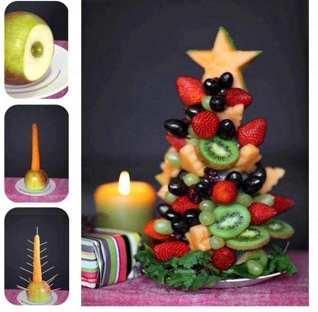 arvore frutos natal